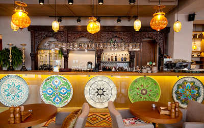 Банкетный зал ресторана Бахчай на проспекте Науки фото 1