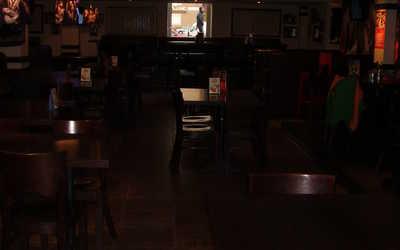 Банкетный зал бара, паба, пивного ресторана Rock Pub (Рок Паб) на Коломяжском проспекте