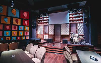 Банкетный зал бара, караоке клуб Karaoke Studio (Караоке студио) на улице Черняховского