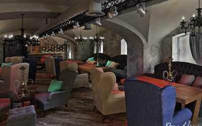 Банкетный зал бара, ночного клуба Бар Hottabych в Биржевом переулке