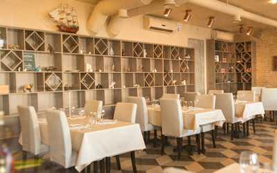Банкетный зал ресторана ELEVEN на набережной реки Фонтанки