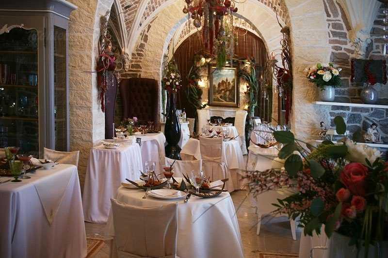 Меню ресторана Chateau de Fleurs (Шато де Флер) на Ломоносовском проспекте