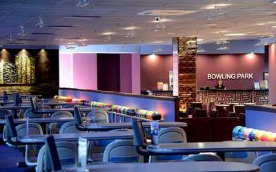 "Банкетный зал ночного клуба, ресторана Боулинг Парк ""Меркурий"" на улице Савушкиной фото 1"
