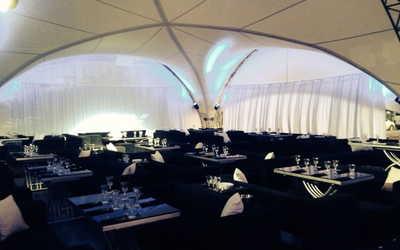 Банкетный зал ночного клуба, ресторана Monaco (бывш.Нефть) в Петровской косе