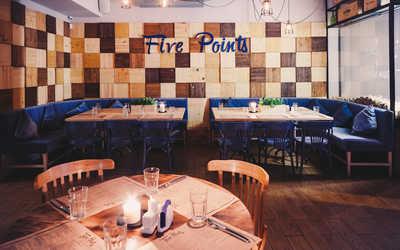 Банкетный зал бара, ресторана Five Points на улице Ломоносова фото 2