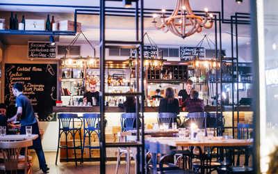Банкетный зал бара, ресторана Five Points на улице Ломоносова фото 3