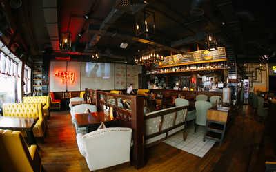 Банкетный зал стейк-хауса Zinger Grill (Зингер Гриль) на улице Арбат фото 2