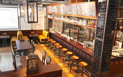 Банкетный зал стейк-хауса Zinger Grill на улице Арбат