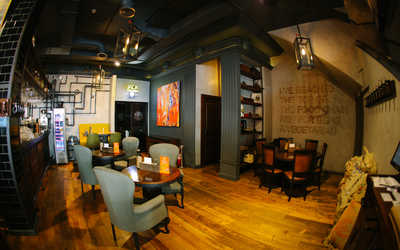 Банкетный зал стейк-хауса Zinger Grill (Зингер Гриль) на улице Арбат фото 1