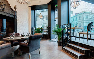 Банкетный зал кафе MazoCafe (Мазо Кафе) в Кривоколенном переулке