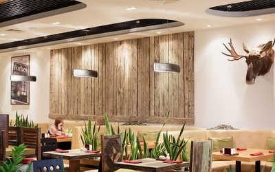 Банкетный зал кафе StoneAge (Budd Group) на улице Каретный Ряд