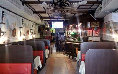 Банкетный зал кафе Аддис-Абеба на улице Земляной Вал фото 1