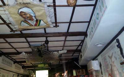 Банкетный зал кафе Аддис-Абеба на улице Земляной Вал фото 3