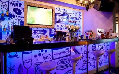 Банкетный зал бара, кафе La Cava cafe & bar (Ла Кава) на Казанской улице