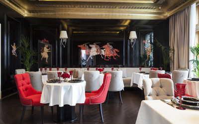 Банкетный зал ресторана Гранд-кафе Dr. Живаго (прежн. Композитор) (Dr. Zhivago) на Моховой улице