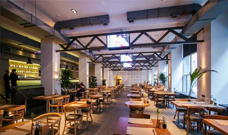 Меню бара, ресторана Coin hall (Коин холл) на Пятницкой улице
