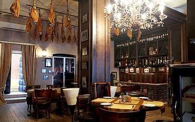 Банкетный зал ресторана Los Bandidos (Лос Бандитос) на улице Большой Ордынка