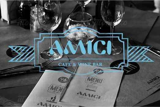 Меню бара, ресторана Amici (Амичи) в Благовещенском переулке
