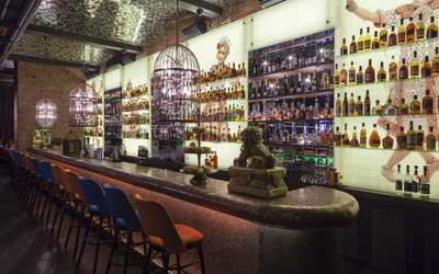 Банкетный зал ресторана Black Thai (Блэк Тай) в Большом Путинковском переулке