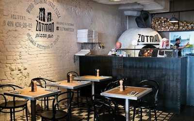 Банкетный зал кафе, ресторана Zotman Pizza Pie (Зотман) на Большой Никитской улице