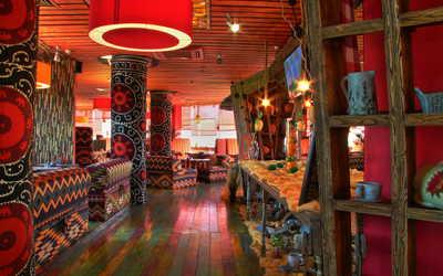 Банкетный зал ресторана Чайхана Дыня на Озерной улице фото 2