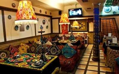 Банкетный зал караоке клуба, кафе Чайхана Инжир (бывш. Бричмулла) на Петрозаводской улице фото 1
