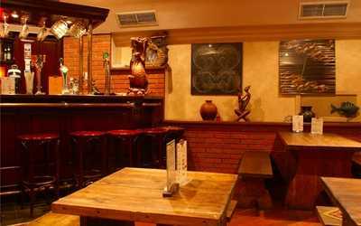Банкетный зал паба, ресторана Doolin House (Дулин Хаус) на улице Арбат