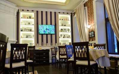 Банкетный зал ресторана Особняк на Красноармейской улице