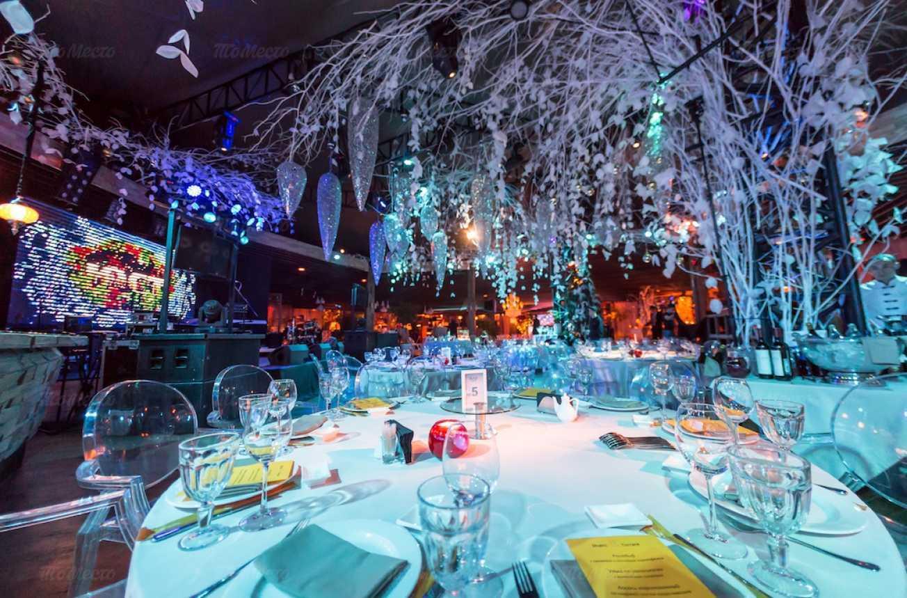 Меню ночного клуба, ресторана Shakti terrace (Шакти Террас) на Болотной набережной