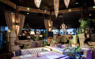 Банкетный зал ночного клуба, ресторана Shakti terrace (Шакти Террас) на Болотной набережной