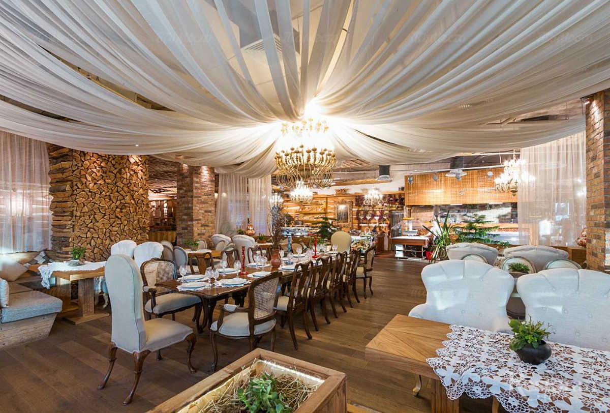 Ресторан Гуси-Лебеди на Коломяжском проспекте фото 10