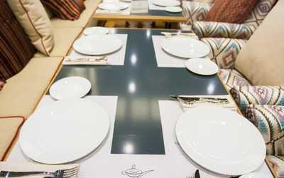 Банкетный зал ресторана Grand Cafe DJINN (Гранд кафе Джин) в Полюстровском фото 3