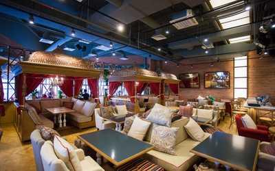 Банкетный зал ресторана Grand Cafe DJINN (Гранд кафе Джин) в Полюстровском фото 1