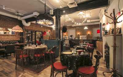 Банкетный зал кафе Батони в Новослободской фото 3