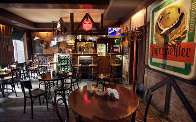 Банкетный зал пивного ресторана JAGER в Правдах фото 2