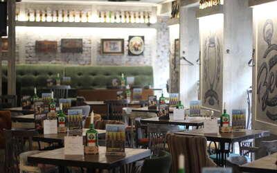 """Банкетный зал пивного ресторана """"JAGER"""" restopub (Ягер рестопаб) в Марате"""