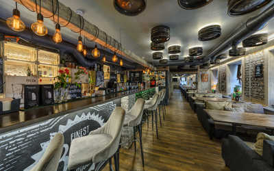 Банкетный зал пивного ресторана JAGER на Среднем проспекте В. О. фото 3