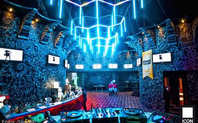 Банкетный зал ночного клуба ICON (бывш. Рай) на Болотной набережной