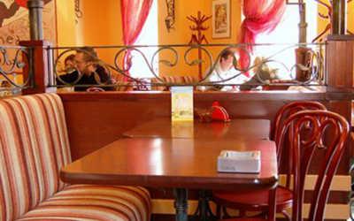 Банкетный зал кафе Creperie De Paris (Крепери Де Пари) на Русаковской фото 3
