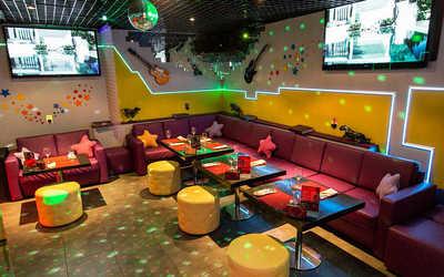 Банкетный зал караоке клуба Звезда караоке в Маросейке