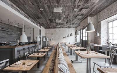 Банкетный зал ресторана Bjorn (Бьёрн) на Пятницкой улице