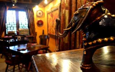 Банкетный зал ресторана Малабар в Малой Красной фото 2