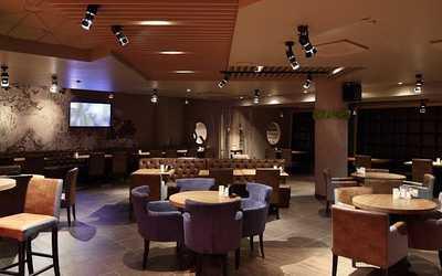 Банкетный зал бара, кафе BAR BQ CAFE на Трубной площади
