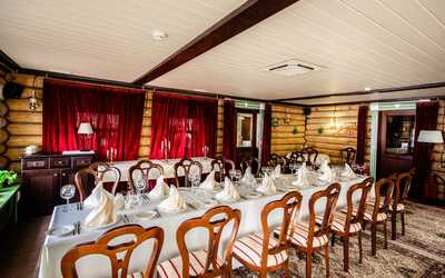 Банкетный зал кафе, ресторана Татарская Усадьба на Шигабутдина Марджани фото 3