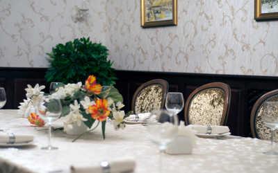 Банкетный зал ресторана Перекресток джаза в Карле Марксе
