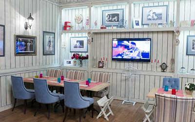 Банкетный зал кафе Florentini Сity Cafe (Флорентини сити кафе) на проспекте Олимпийской Деревни