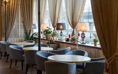 Банкетный зал кафе Florentini Сity Cafe (Флорентини Сити) на проспекте Олимпийской Деревни фото 2