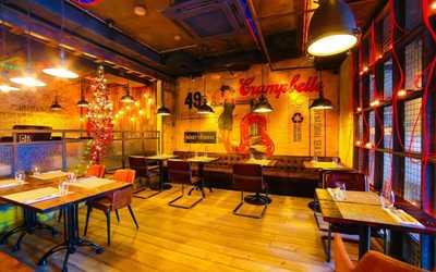 Банкетный зал ресторана Фаренгейт на Тверском бульваре фото 2