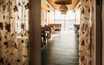Банкетный зал пивного ресторана Пиворама в Большевикове