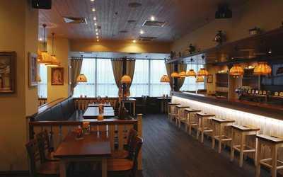 Банкетный зал пивного ресторана Пиворама в Белах Куна
